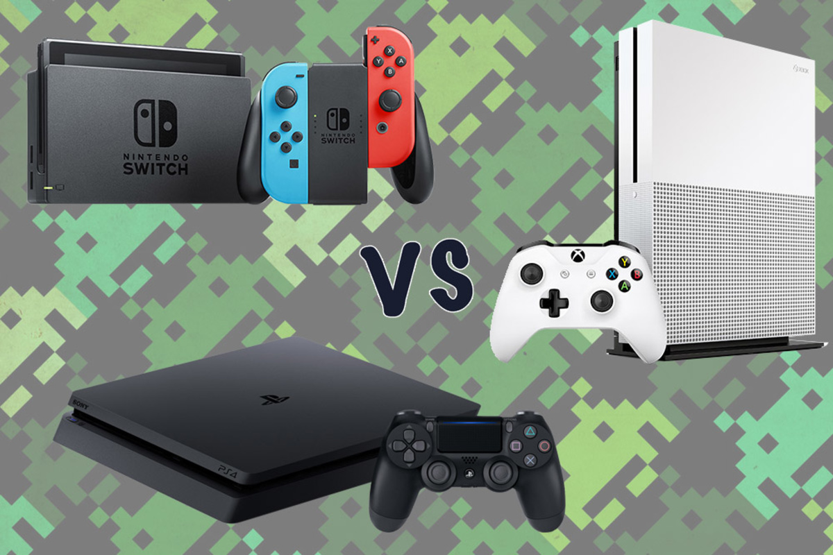 PS4 vs XBOX vs Nintendo