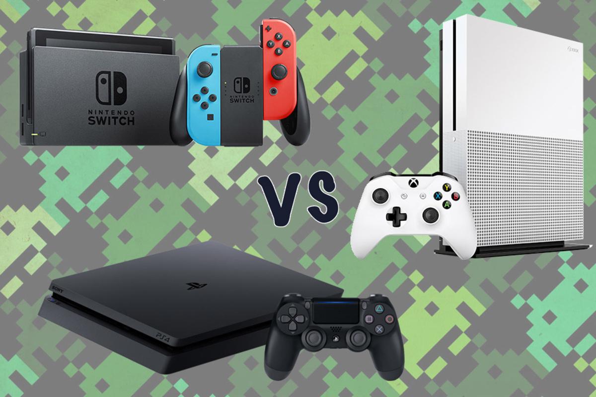 PS4 vs XBOX vs Nintendo