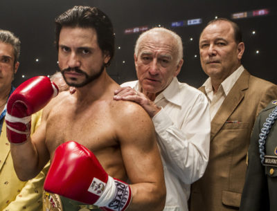 The Hands of Stone DVD Cover and Review