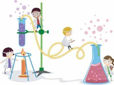 Stephen Buzzi and Scientific experiments that astonish school children